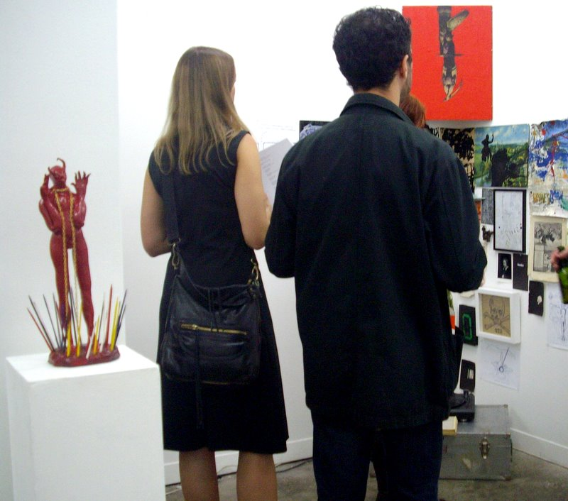 opening @ hell gallery